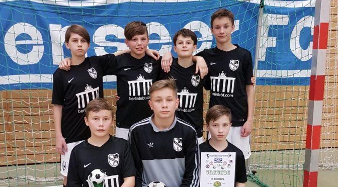 Turnierbericht D-Jugend I: 1.Platz beim Weißenseer FC